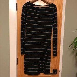 LOFT long sleeve sweater dress